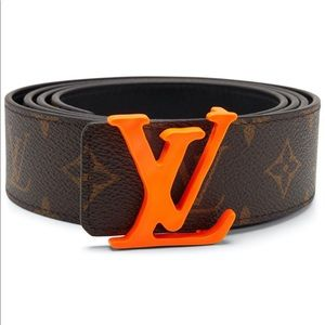 Louis Vuitton Shape Belt Monogram 40MM Brown